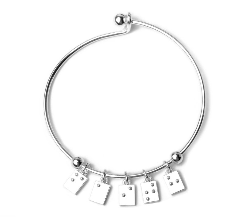 Faith Braille Bracelet