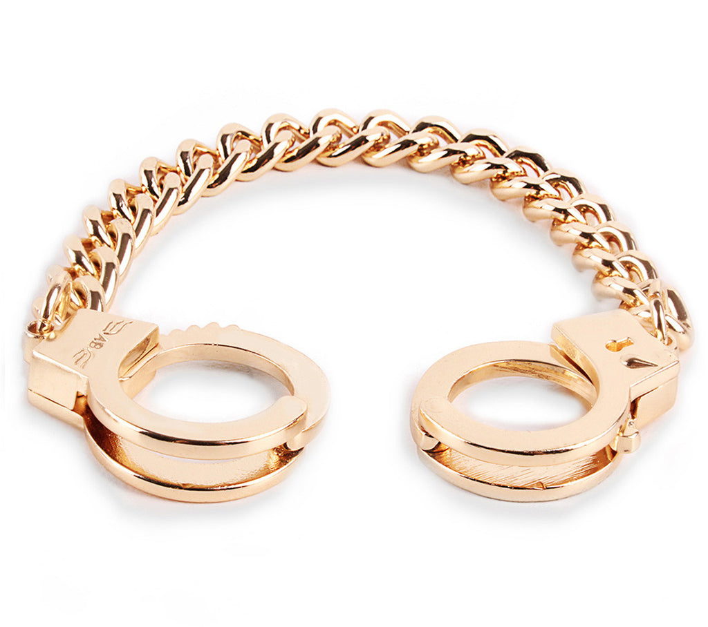 gold handcuff bracelet grey bracelet gold bridget 9887