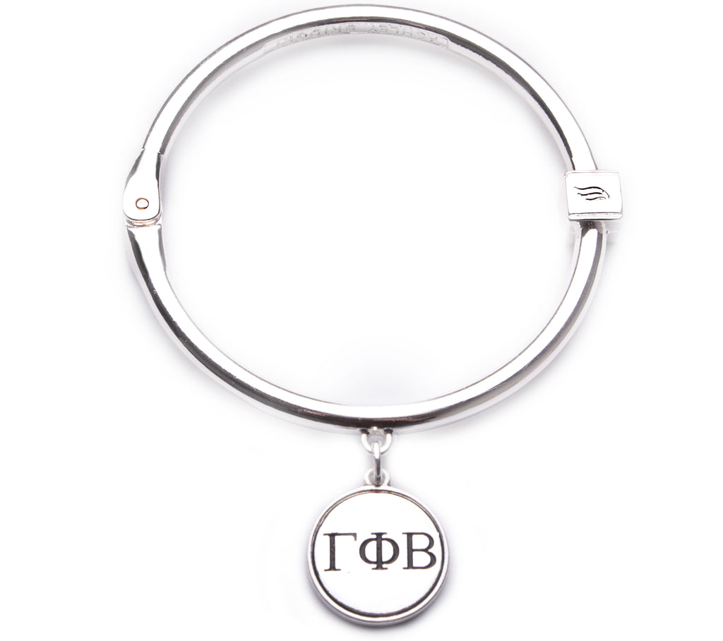 Gamma Phi Beta Hinge Bangle Bracelet