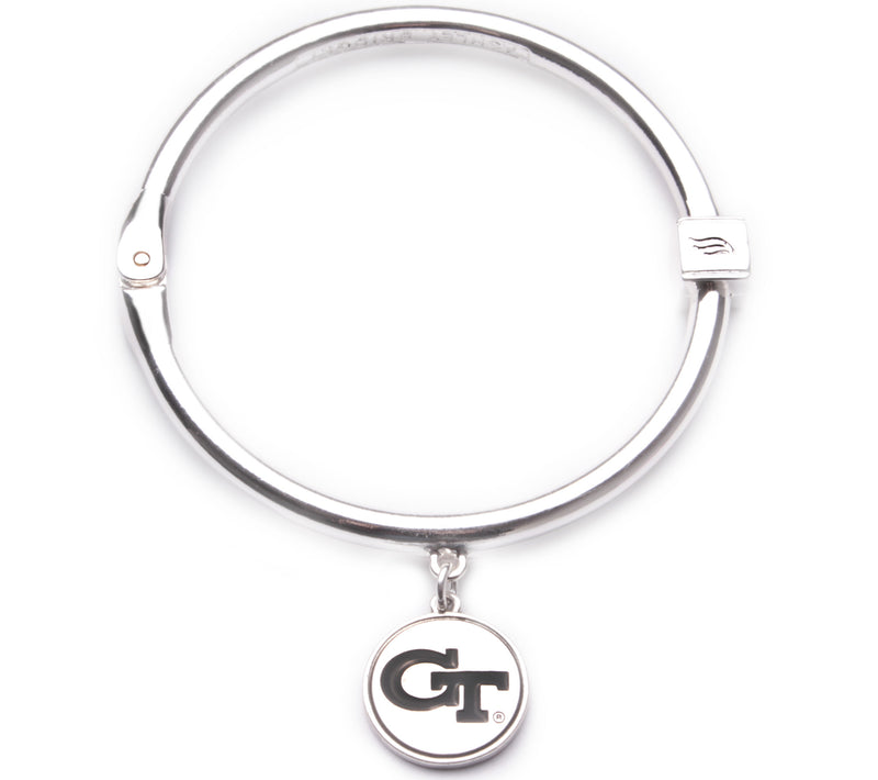Georgia Tech Yellow Jackets Hinge Bangle Bracelet