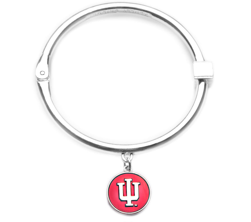 Indiana Hoosiers Hinge Bangle Bracelet
