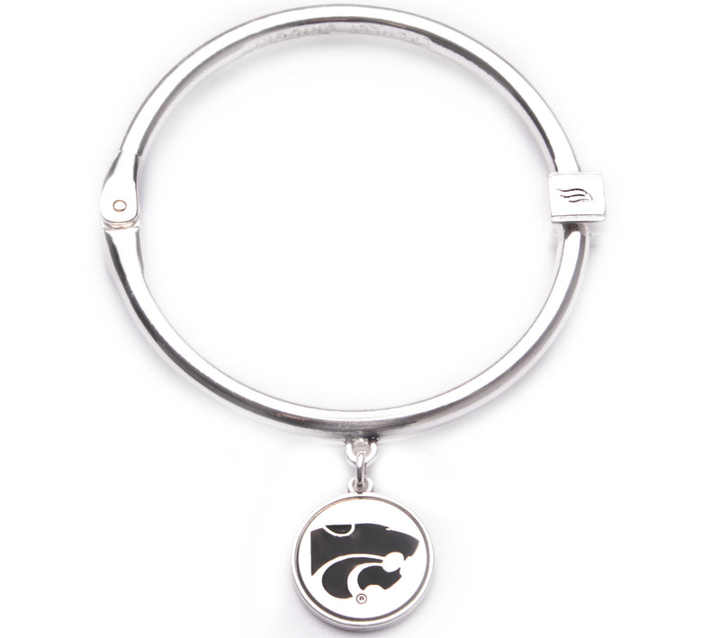 Kansas State Wildcats Hinge Bangle Bracelet