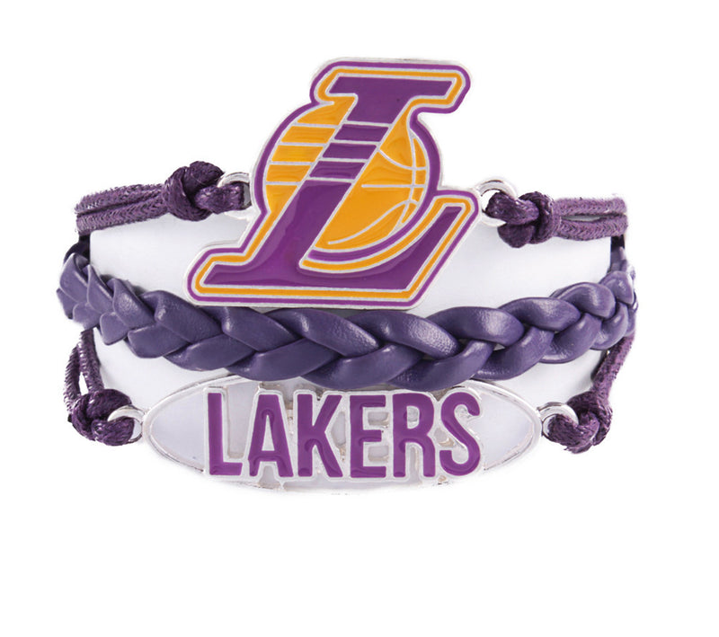 Los Angeles Lakers Bracelet