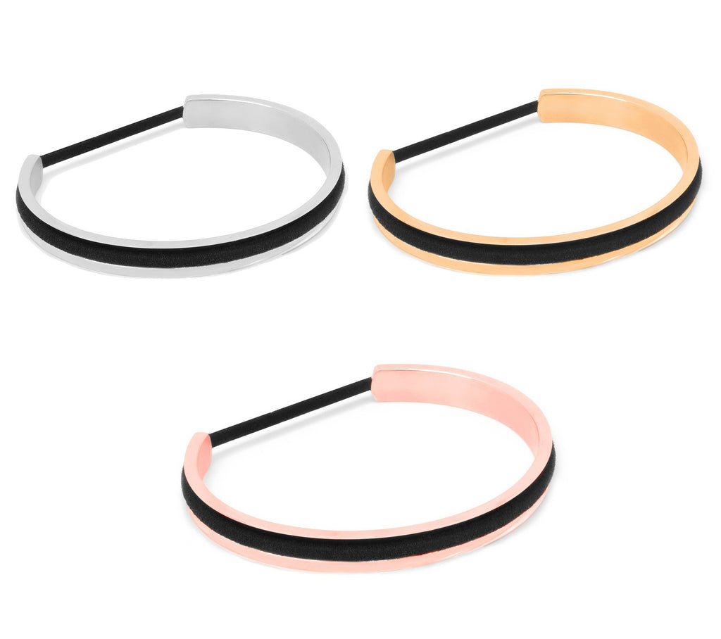 The Skinny Elastic Holder Bangle 3 Pack