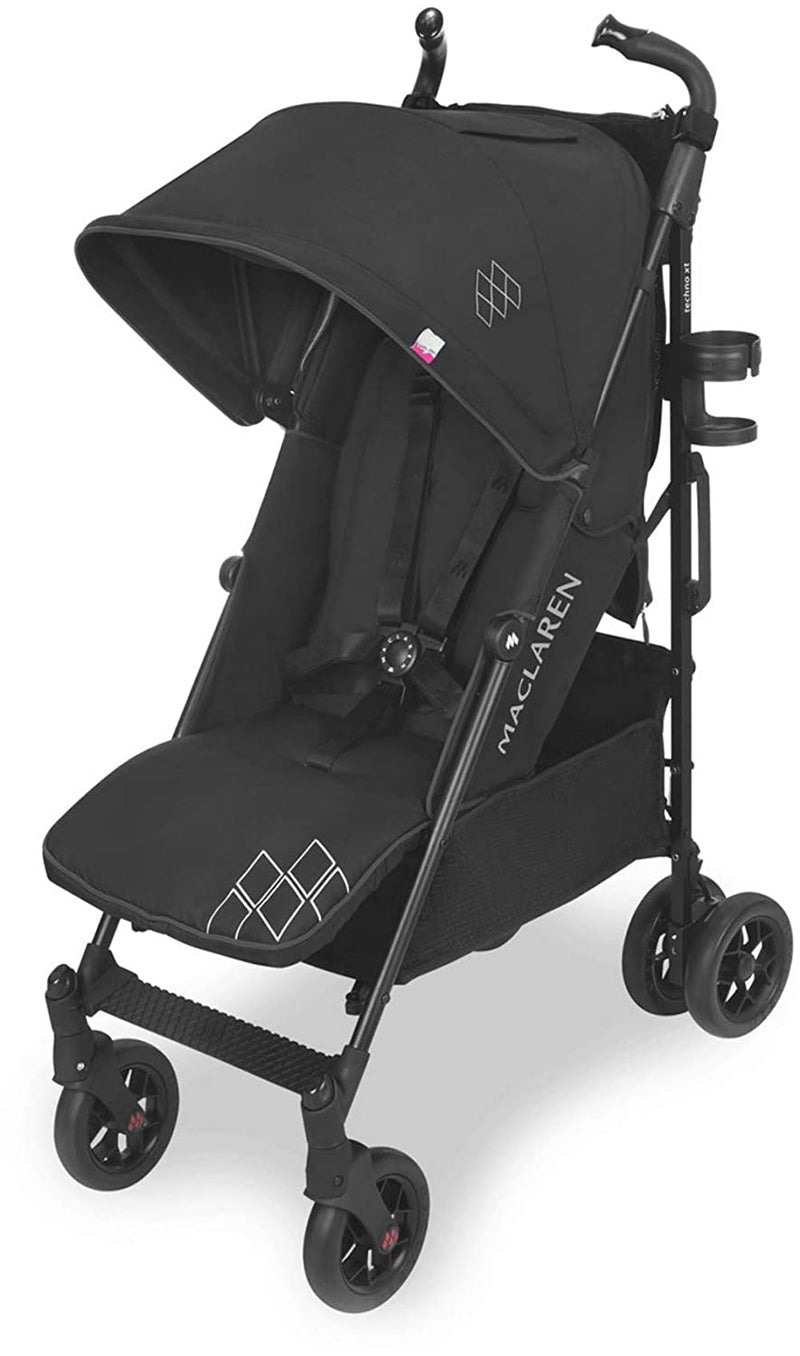 Maclaren Techno XT Stroller - Black/Black- Limited to 1 per customer