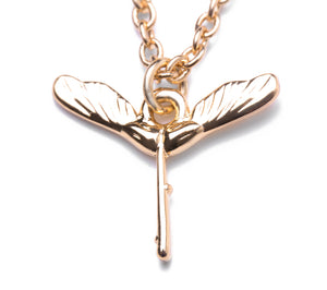 Maple Tree Pod Necklace