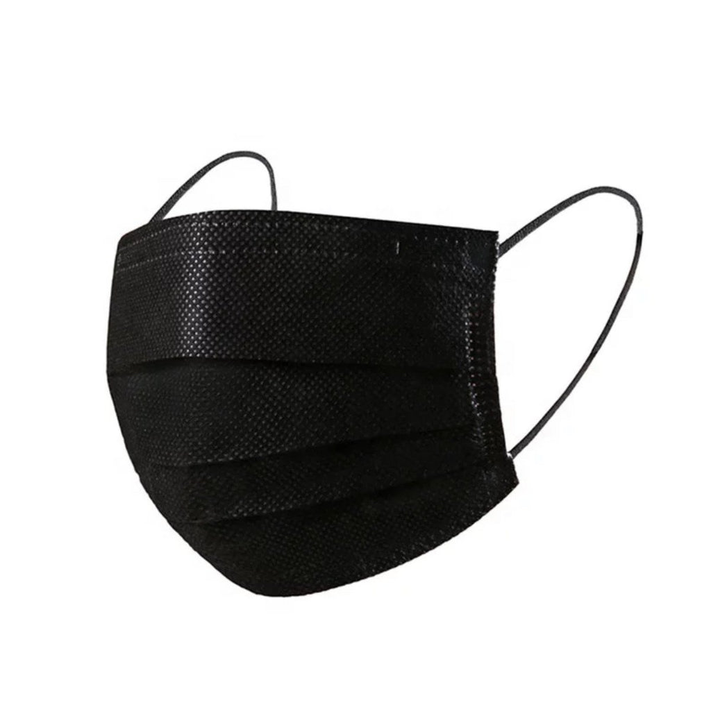 Ultra High Quality Black 3 Ply Medical Mask