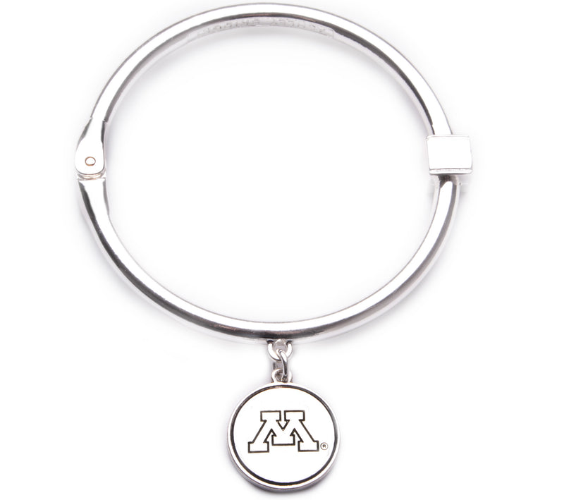 Minnesota Golden Gophers Hinge Bangle Bracelet