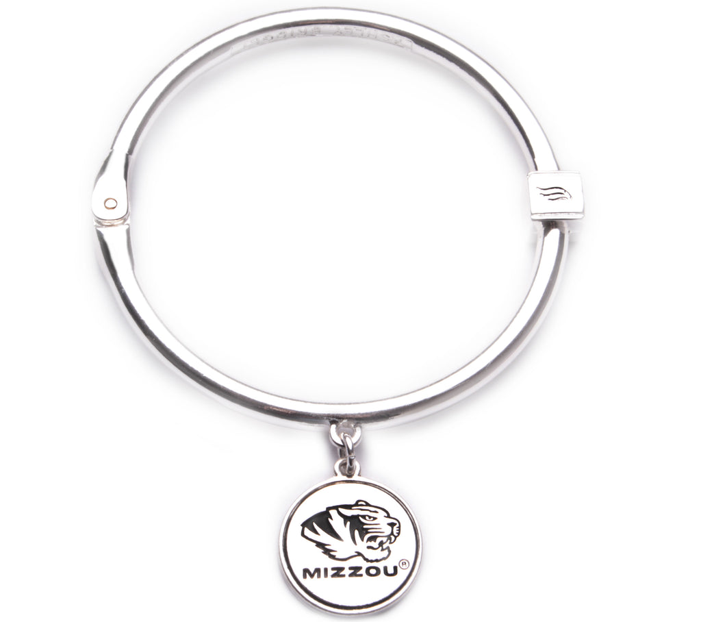 Missouri Tigers Hinge Bangle Bracelet