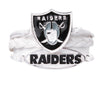 Oakland Raiders Bracelet