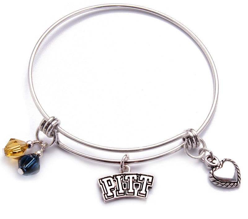 Pittsburgh Panthers Bangle Bracelet