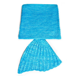 The Original Mermaid Blanket - Tropical Blue