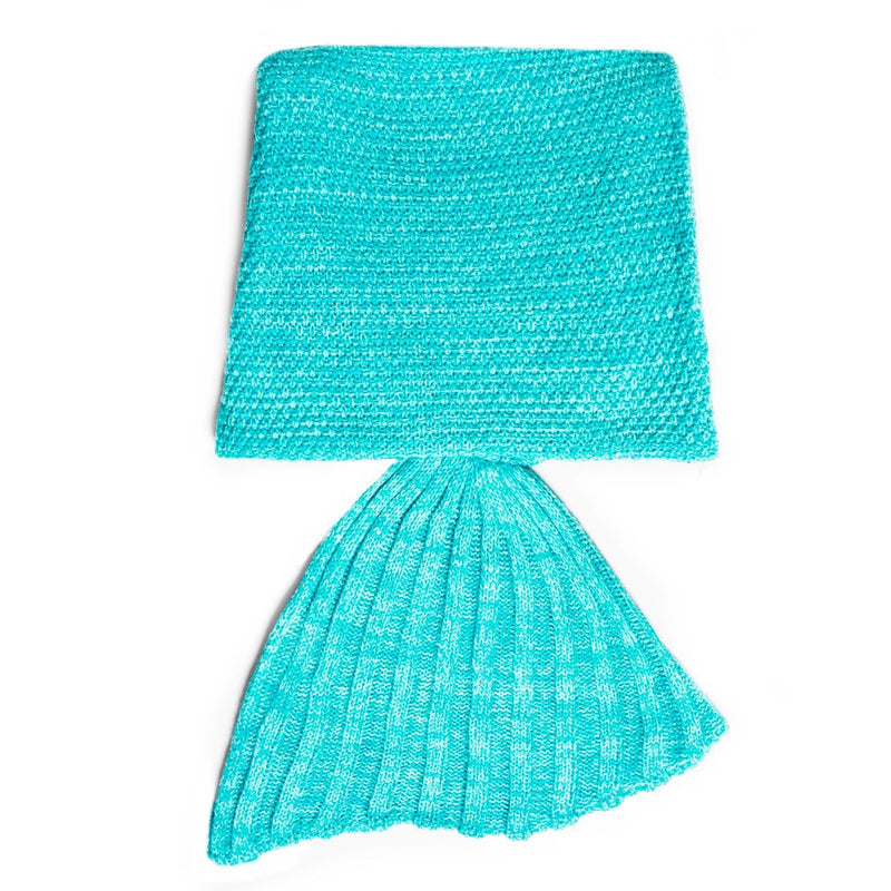 The Original Mermaid Blanket - Aqua Green