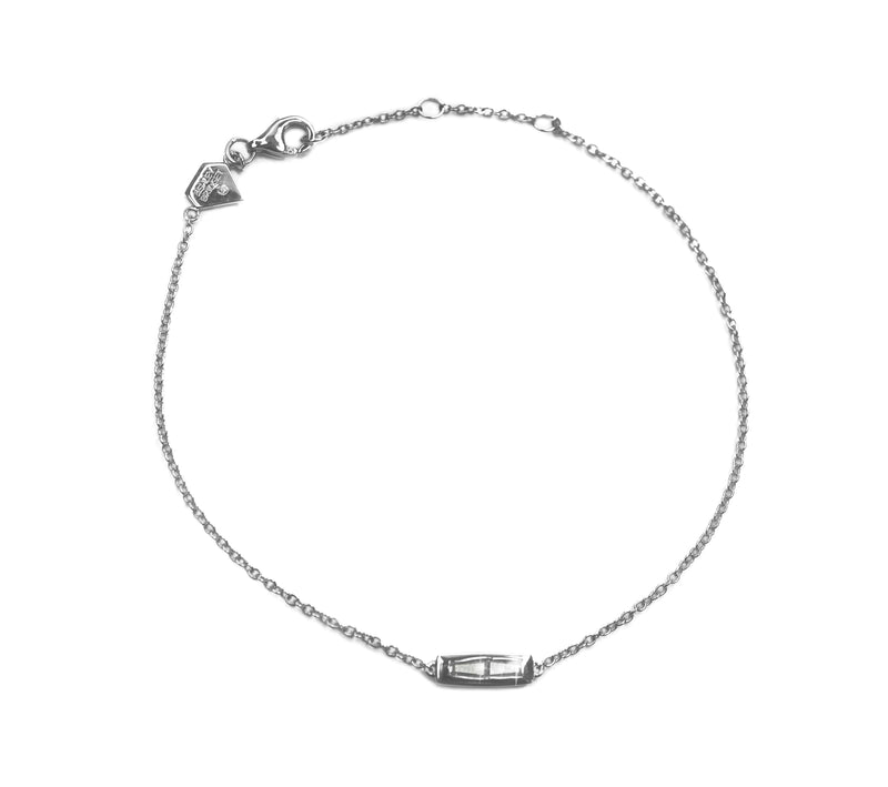 Baguette Diamond Bracelet (Includes 3 diamonds)