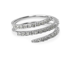 Multi-Band Diamond Ring (Includes 33 diamonds)