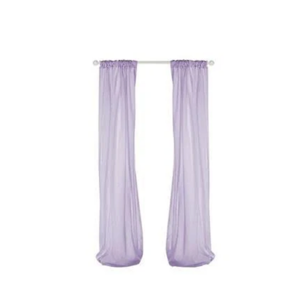 Glenna Jean Penelope Sheer Panel (set of 2)