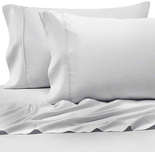 Pure Beech® 100% Modal Sateen Queen Sheet Set in White