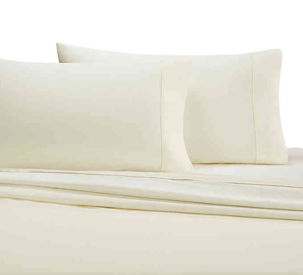 Wamsutta® 350-Thread-Count Egyptian Cotton Full Sheet Set in Ivory