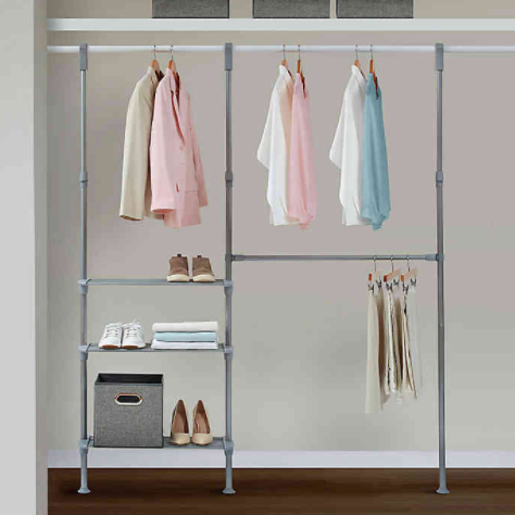 Relaxed Living Adjustable Closet System