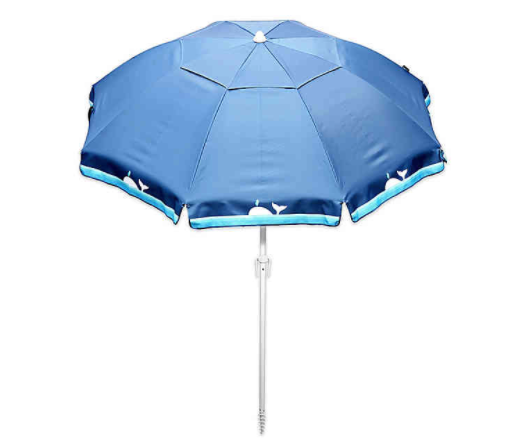Harbor Beach 7-Foot Beach Umbrella in Whale Blue