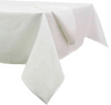 Basketweave 60-Inch x 84-Inch Oblong Tablecloth in White