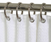 TITAN® NeverRust® Madison Shower Curtain Rings in Nickel (Set of 12)