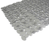 Rocks Vinyl Tub Mat in Clear- Limited to 1 per customer