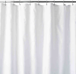 Wamsutta® 70-Inch x 72-Inch Fabric Shower Curtain Liner with Suction Cups- Limited to 1 per customer