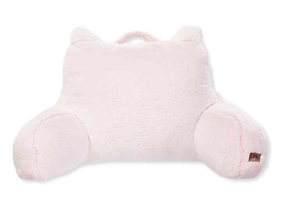 Ugg® Kids Casey Frosted Sherpa Backrest in Pink