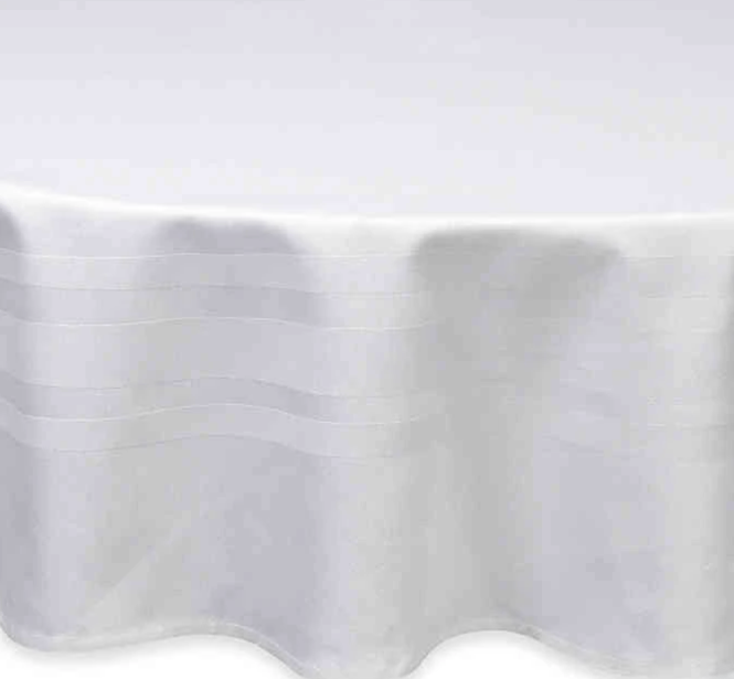 WAMSUTTA CLASSIC 90-INCH ROUND TABLECLOTH IN WHITE