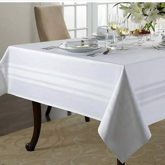 Wamsutta Classic 70-Inch x 120-Inch Oblong Tablecloth in White