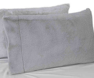 UGG® Polar Plush Standard/Queen Pillowcase in Glacier Grey