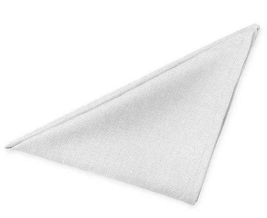 Basketweave Napkins in White (Set of 2)- Limited to 1 per customer