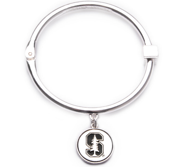 Stanford Cardinal Hinge Bangle Bracelet