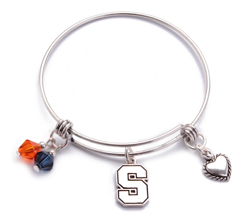 Syracuse Orange Bangle Bracelet