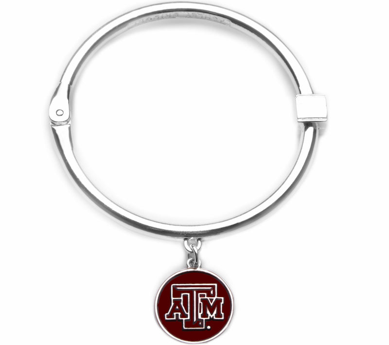 Texas A&M Aggies Hinge Bangle Bracelet