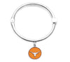 Texas Longhorns Hinge Bangle Bracelet home