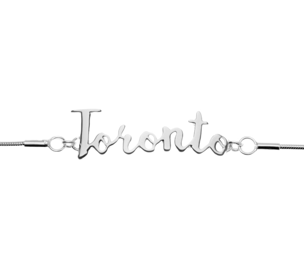 Jet Set Collection - .925 Sterling Silver Toronto