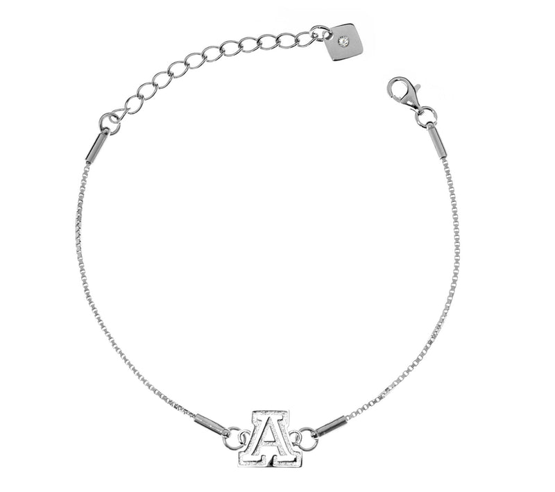 University of Arizona Wildcats .925 Sterling Silver Bracelet