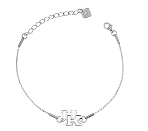 University of Kentucky Wildcats .925 Sterling Silver Bracelet
