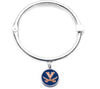 Virginia Cavaliers Hinge Bangle Bracelet
