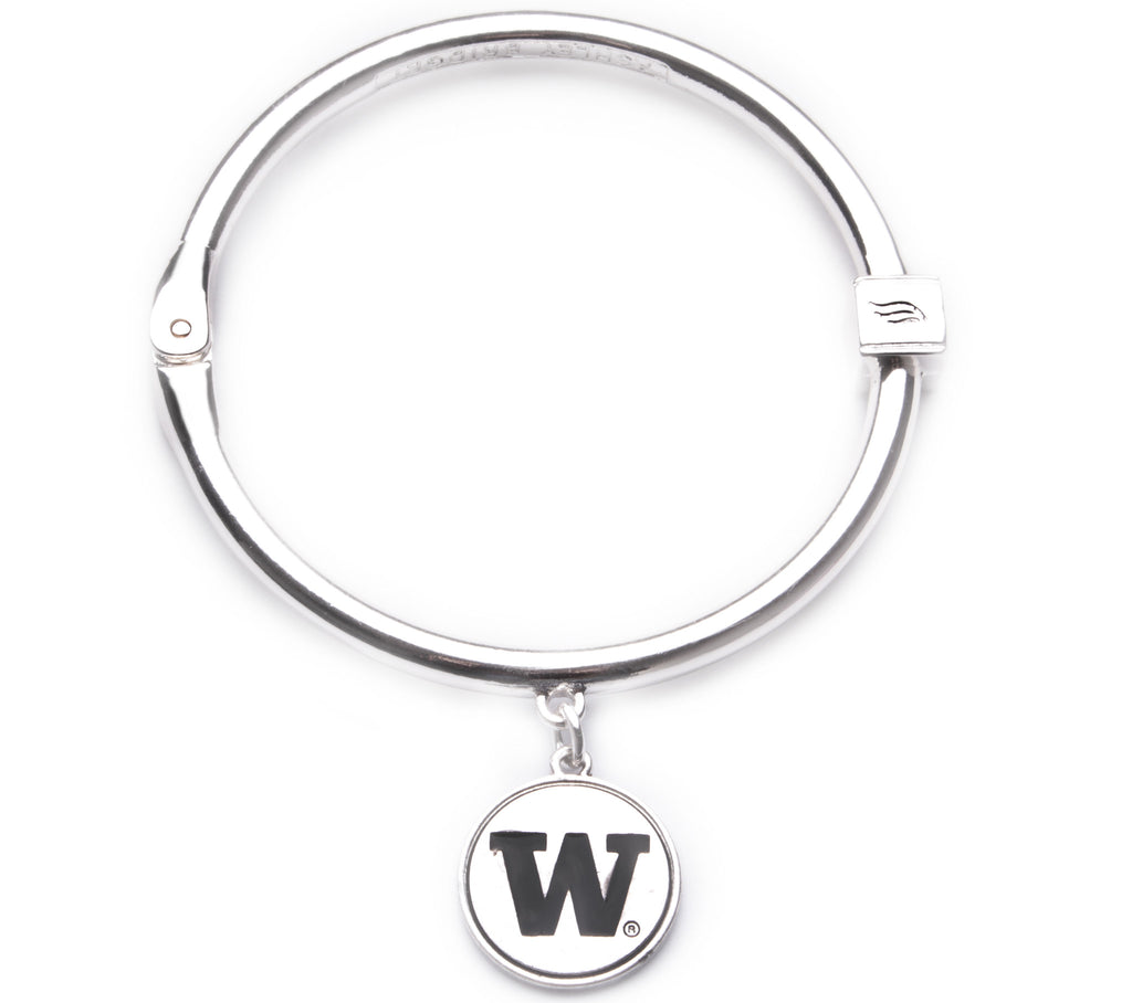 Washington Huskies Hinge Bangle Bracelet