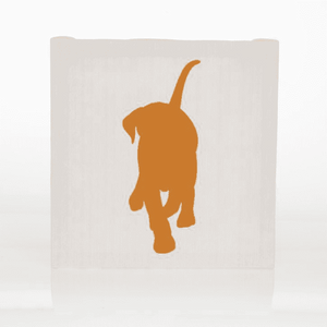 Glenna Jean® Millie Wall Art - Orange Dog