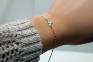 Diamond Cluster Bracelet (Includes 13 diamonds)