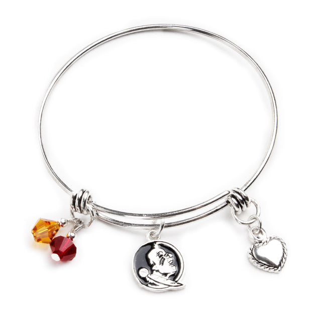 Florida State Seminoles Bangle Bracelet