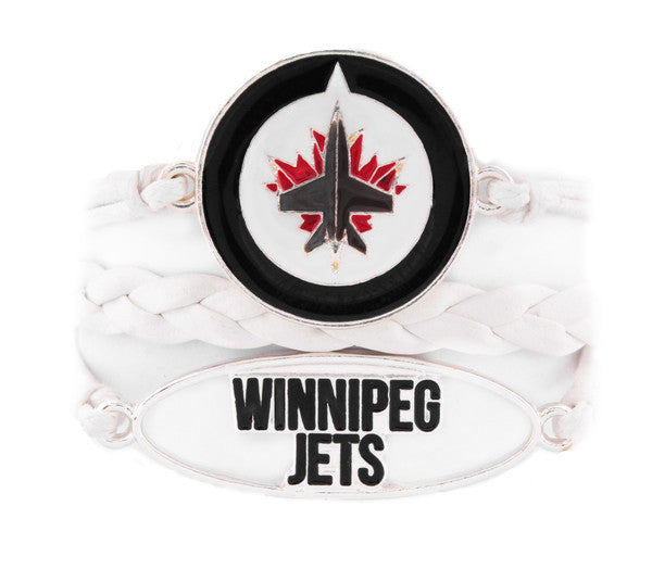 Winnipeg Jets Bracelet - Navy