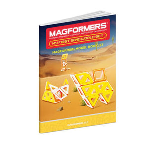 Magformers My First Sand World 30-Piece Magnetic Construction Set