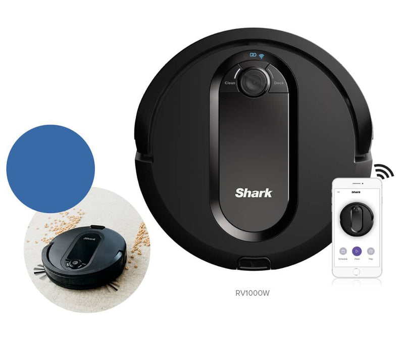 Shark IQ Robot Self-Empty™ Vacuum R101AE with Self-Empty Base, Wi-Fi, Home Mapping