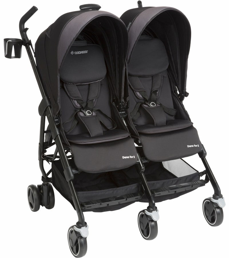 Maxi-Cosi Dana For 2 Stroller in Devoted Black