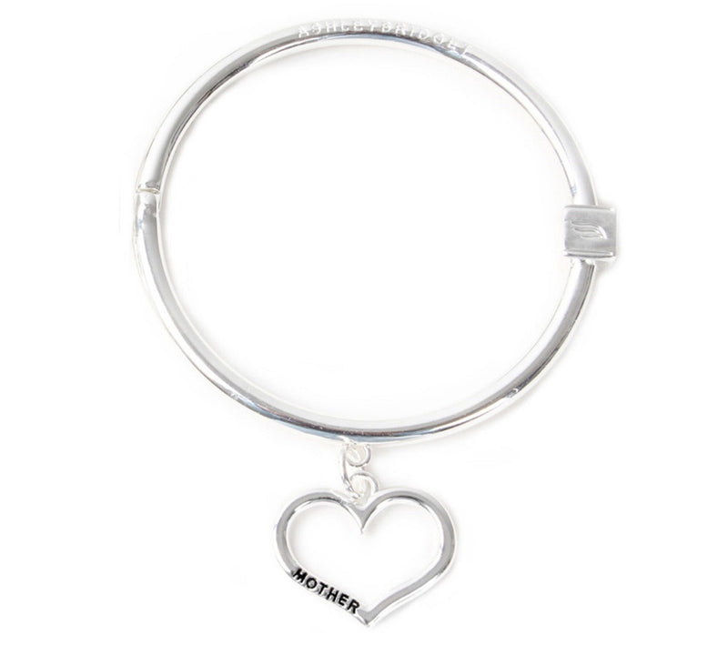 Mother's Love Bracelet - .925 Sterling Silver Plated